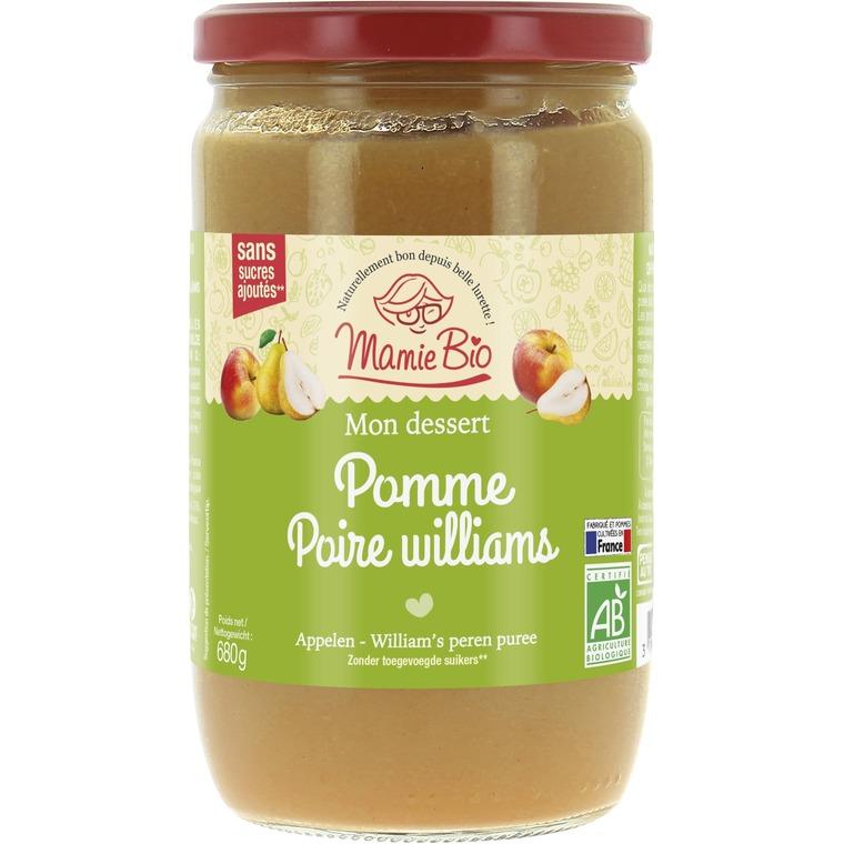 Purée de Pomme Poire bio - 680 gr 210937