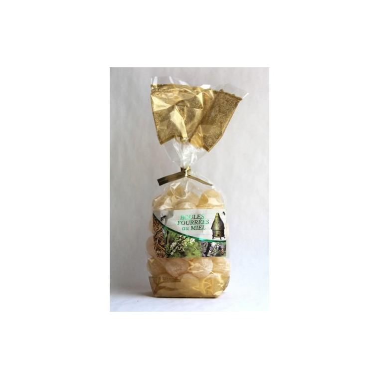 Boules fourrées au miel bio en sachet de 200 g 210959
