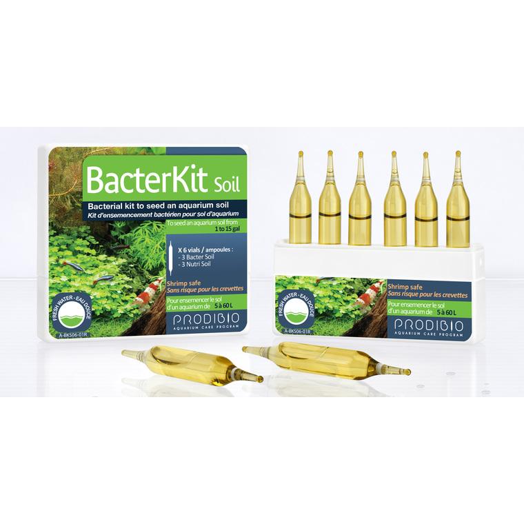 Kit de bactéries Bacterkit Soil pour sol d'aquarium 210985