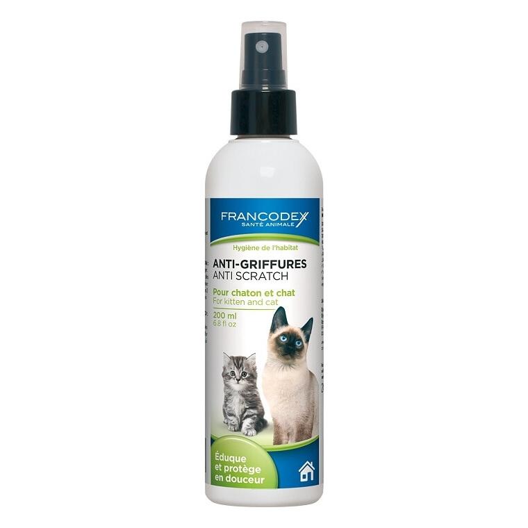 Spray anti-griffures pour chat et chaton 200 ml 211480
