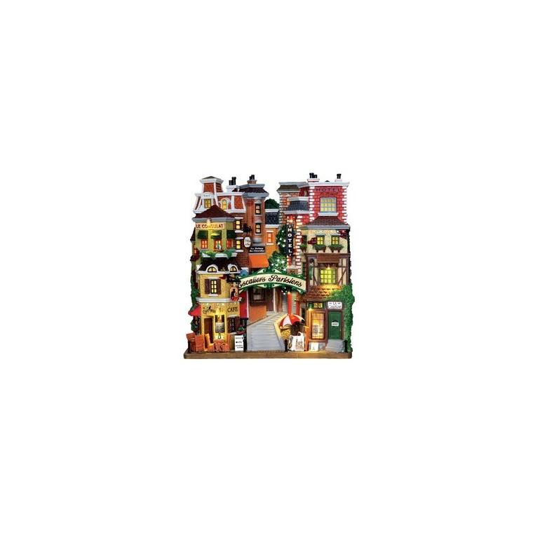 Maison, Escaliers parisiens 24 x 10.2 x 26.8 cm 211554