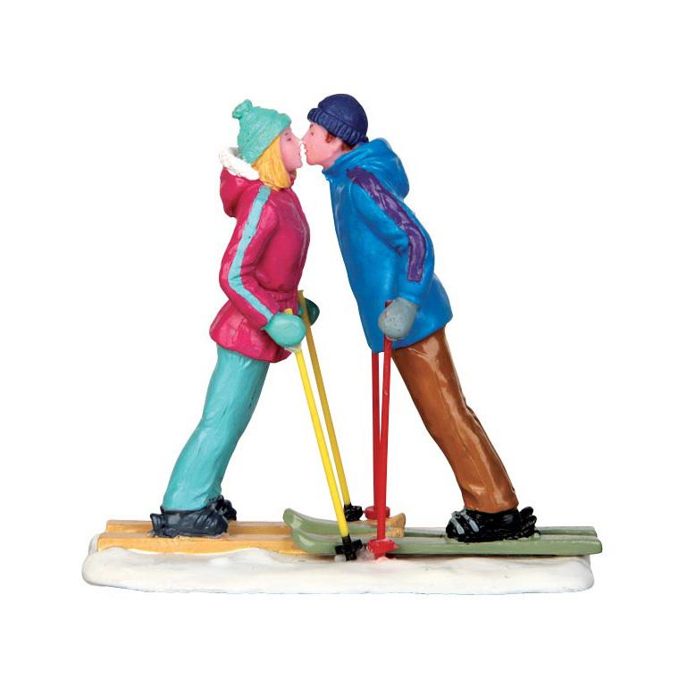 Figurine Premier Rendez-Vous au ski 7.6 x 3.7 x 7 cm 211598