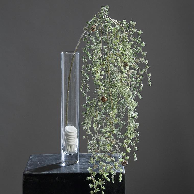 Branche larix glacée H120 cm 213469