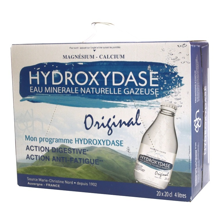 Eau minérale Hydroxydase 20 x 20 cl 213554