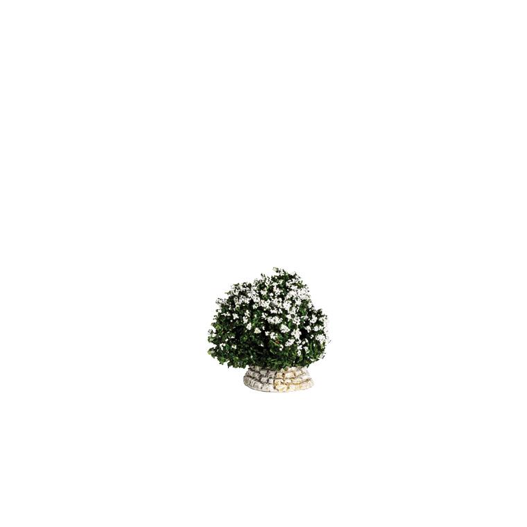 Buisson blanc 4 x 5 x 4 cm 215128