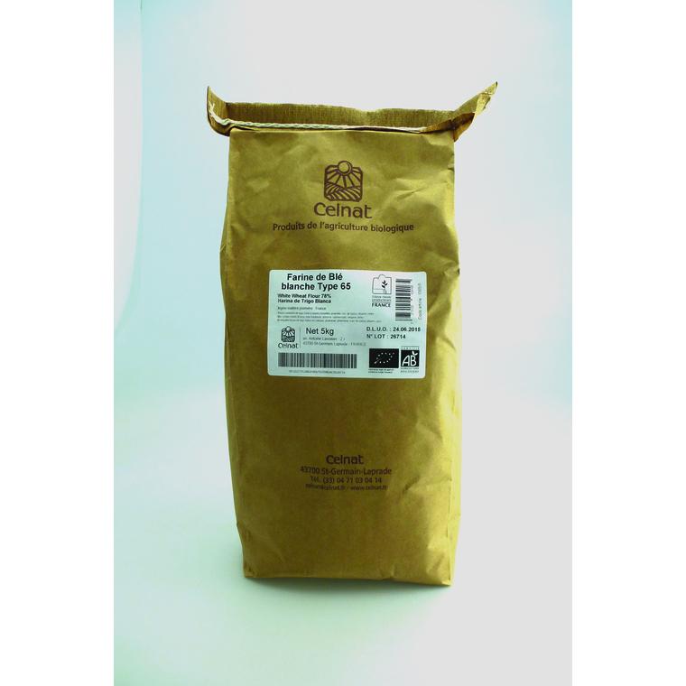 Farine de blé blanche T65 - 5 Kg 215288