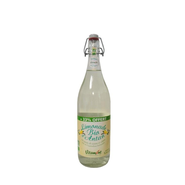 Promo Limonade d'antan bio +33% offert VITAMONT