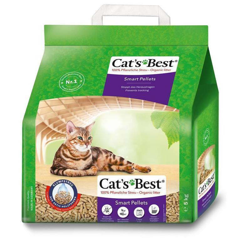 Litière pour chat Cat's Best Nature Gold 10 l