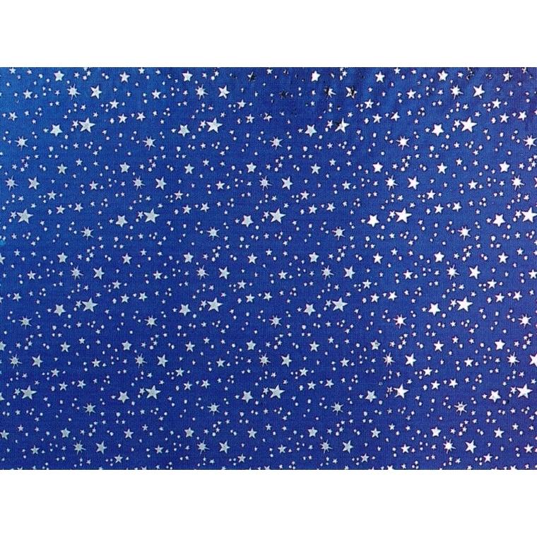 Papier métallisé ciel étoilé – 100x70 cm 220434