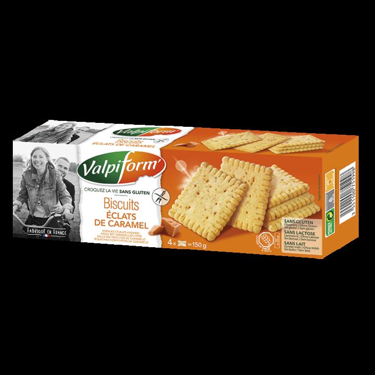 Biscuits aux éclats de caramel – 150 gr