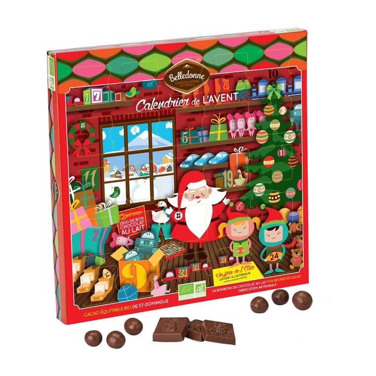 Calendrier de l'Avent chocolats 221354