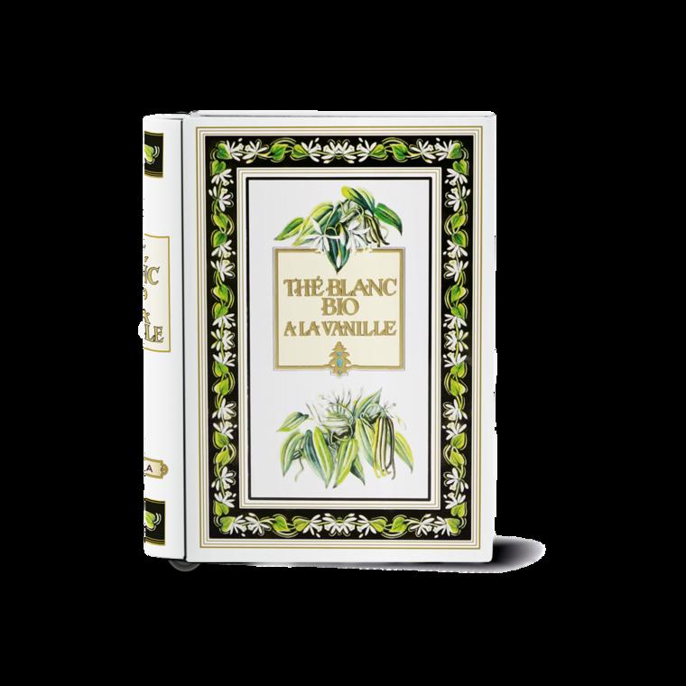 "Thé blanc vanille bio ""livre"" BM 36 g"