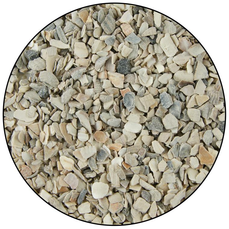 Coquille d'huitre aromatisé en seau blanc de 4,5 kg 222126