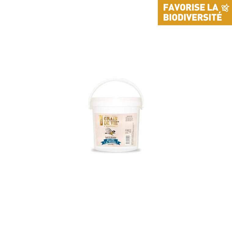 Mélange de graines premium pour mésange de 800 g 222154
