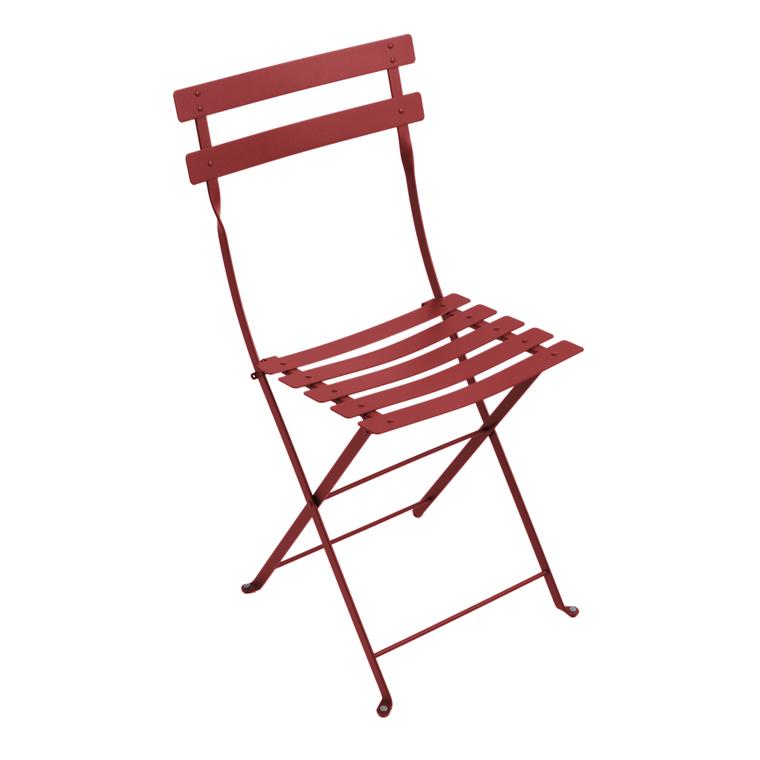 Chaise pliante Bistro coloris Piment 222646