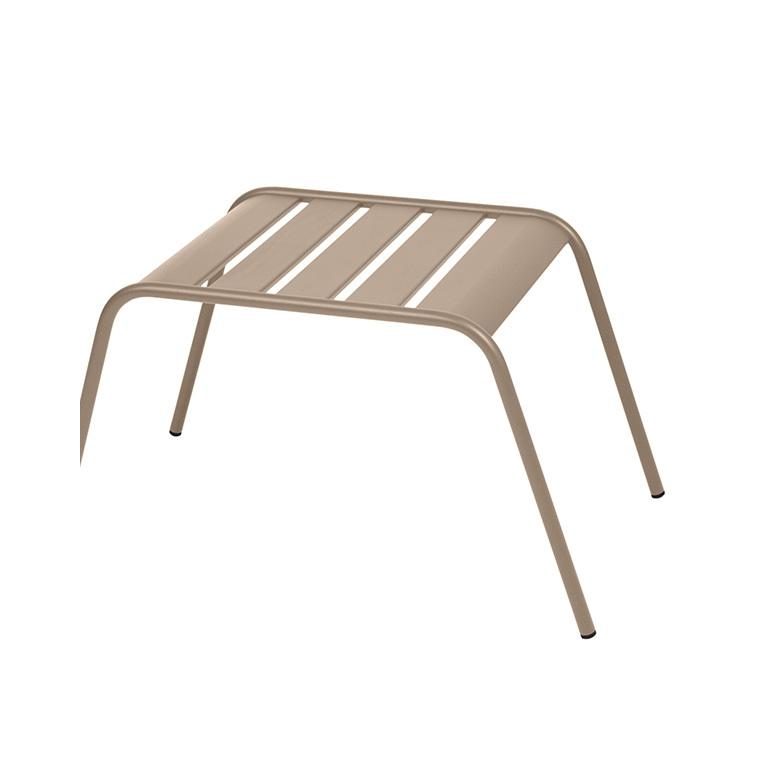 Table basse de jardin Monceau Fermob muscade 42 x 45 x 41 cm 222661
