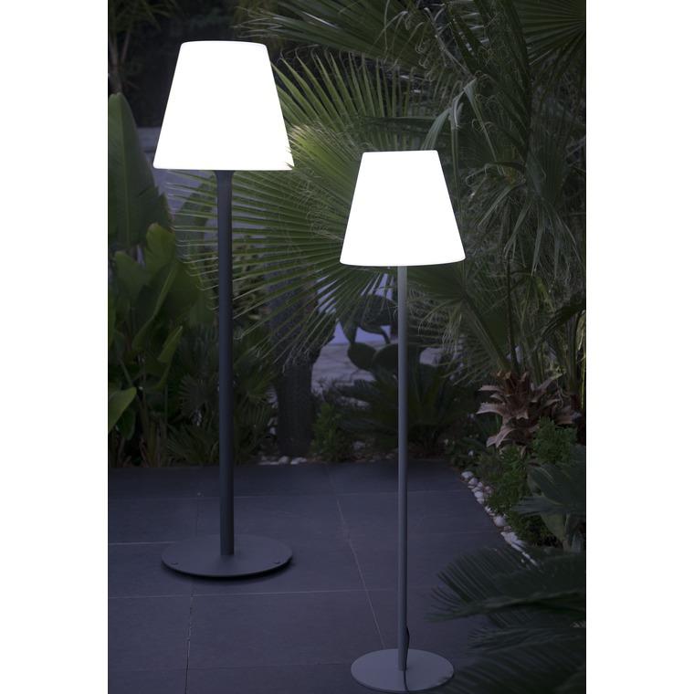 Lampadaire extérieur blanc 180cm Standy W180 222703