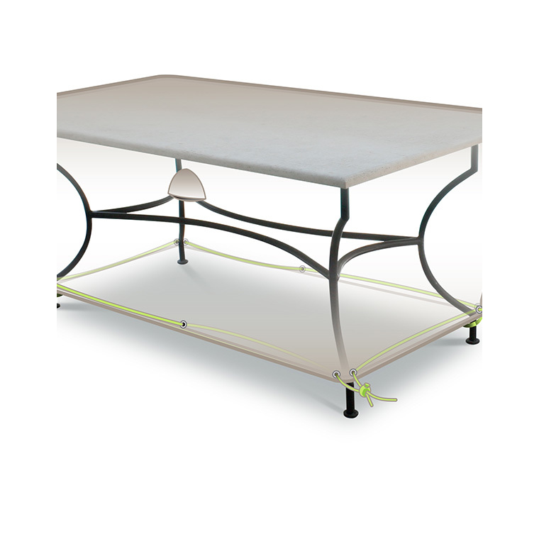 Housse protection table rectangulaire 4-6 personnes 222760