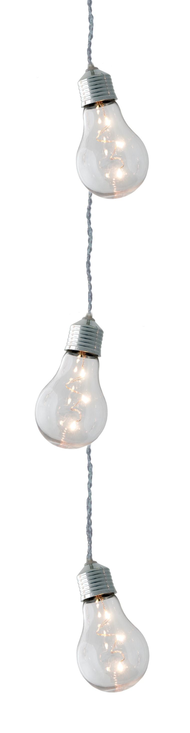 Guirlande ampoules transparentes 3,5 m de long 222796