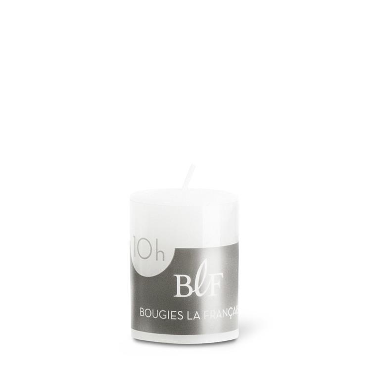 Bougie votive cylindrique 3,8x4,8 cm - Blanc 223389