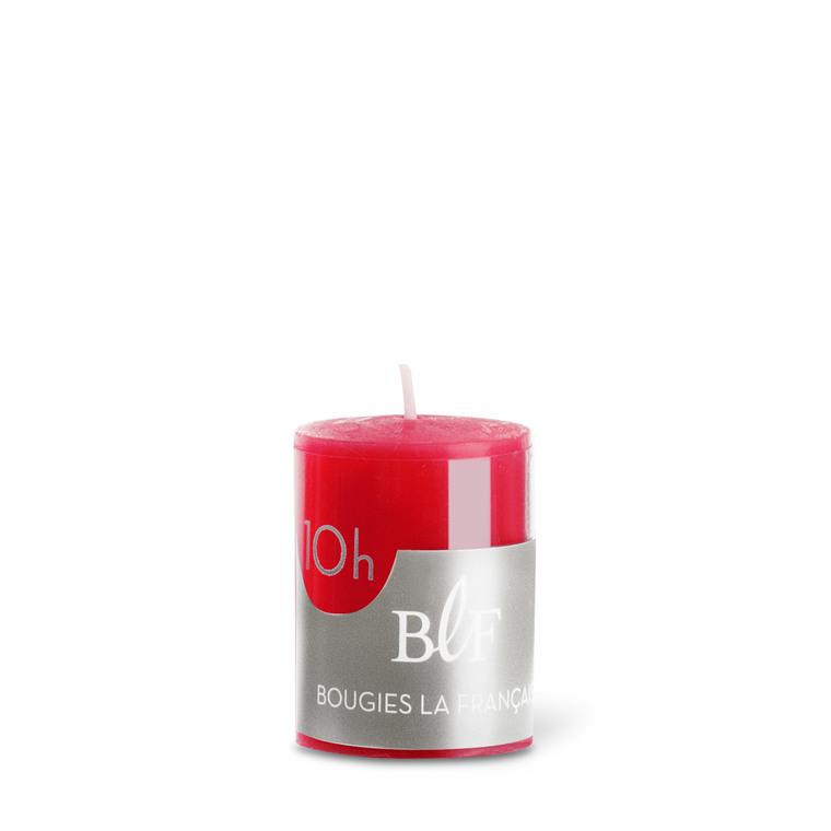 Bougie votive cylindrique 3,8x4,8 cm - Rouge 223394