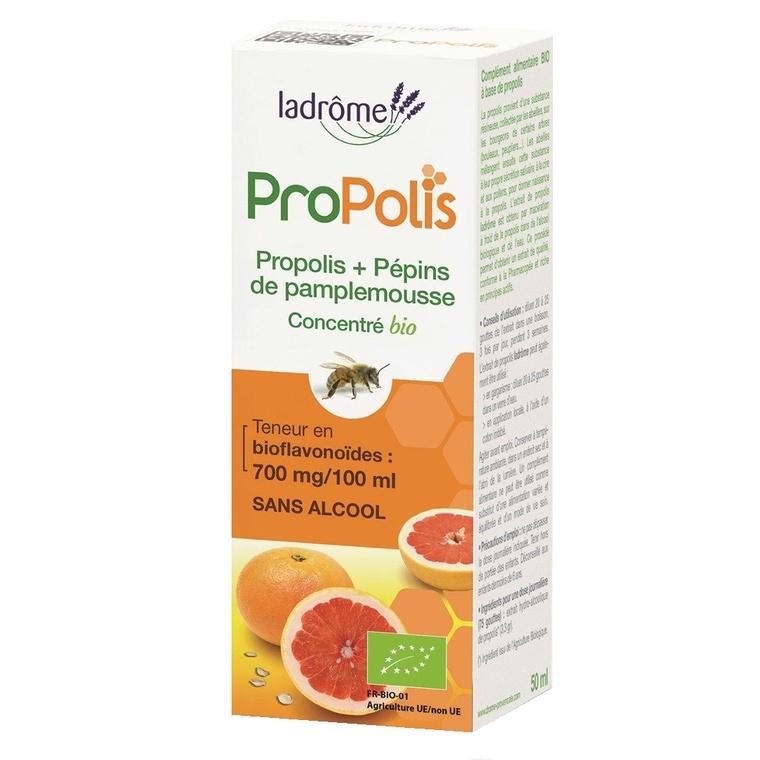 Concentré de propolis et de pépins de pamplemousse Bio 50 ml LA DRÔME PROVENÇALE