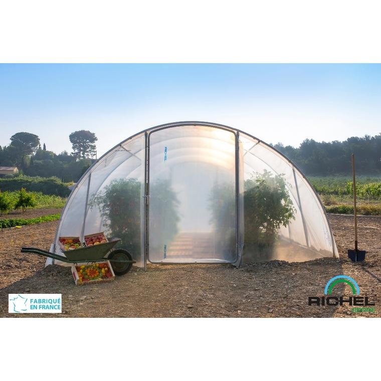 Serre de jardin en plastique transparente 18m² - 3 x 6 m 224013