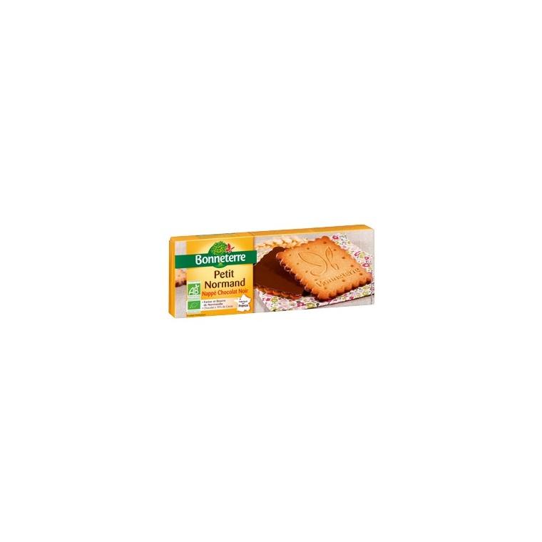 Petit Normand nappé de chocolat noir - 150 gr 224053