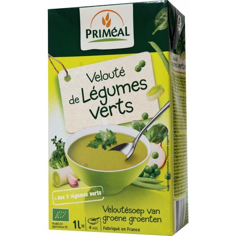 Velouté de légumes verts bio – 1L 224084