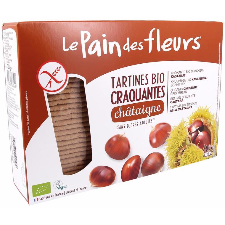 Tartines craquantes à la châtaigne Pain Des Fleurs 300 g 224094