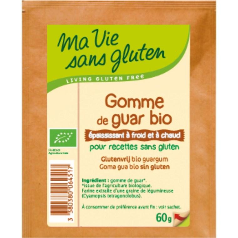 Gomme de guar bio - 60 gr