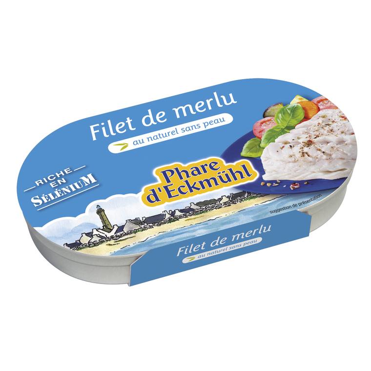 Filets de merlu bio - 150 gr 224099