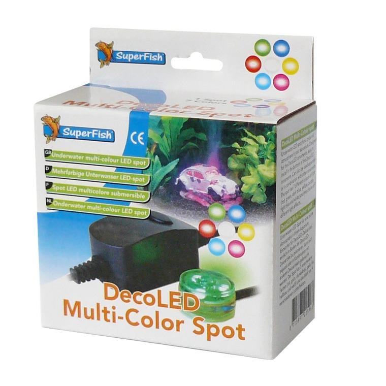 Éclairage Deco LED Multicolor Spot pour Déco Led 2 W. 12,2x13,5x6,8 cm 224724
