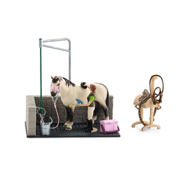 Box lavage pour chevaux Série Horse Club 19x11x17,2 cm 225469