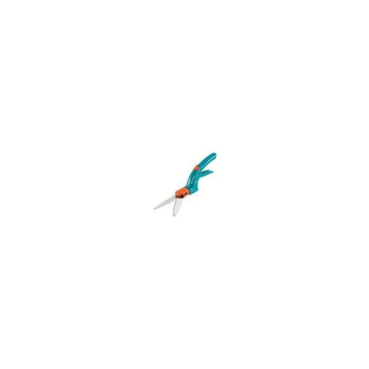 Cisaille à gazon en acier trempé galvanisé bleu et gris foncé 226259