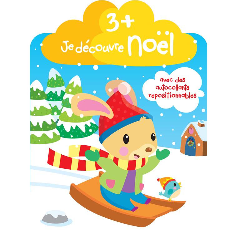 Je Découvre Noël  3 + Luge Yoyo Books Dilisco 226587