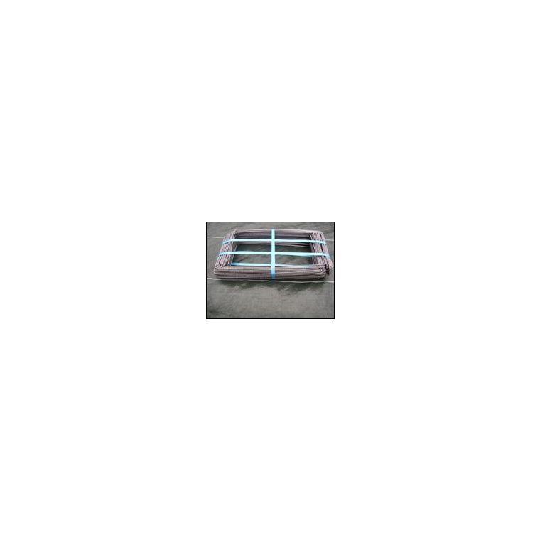 Agrafes métalliques coloris gris Ø 4 mm 226965