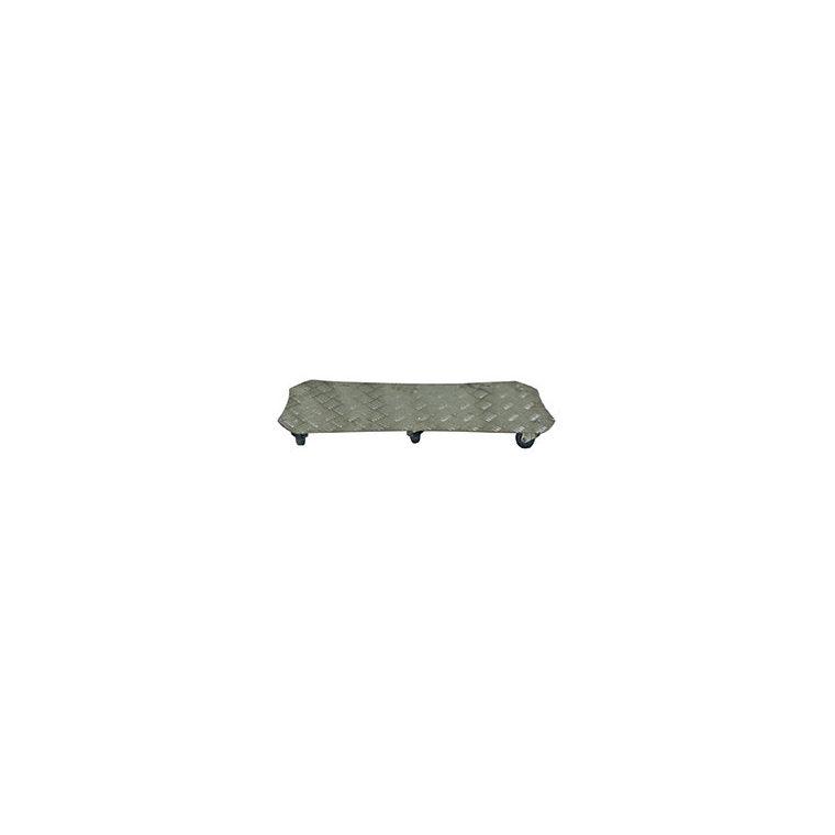 Support 6 roulettes aluminium spécial bac 226984