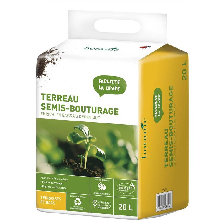 Terreau semis et bouturage 20 L 227053