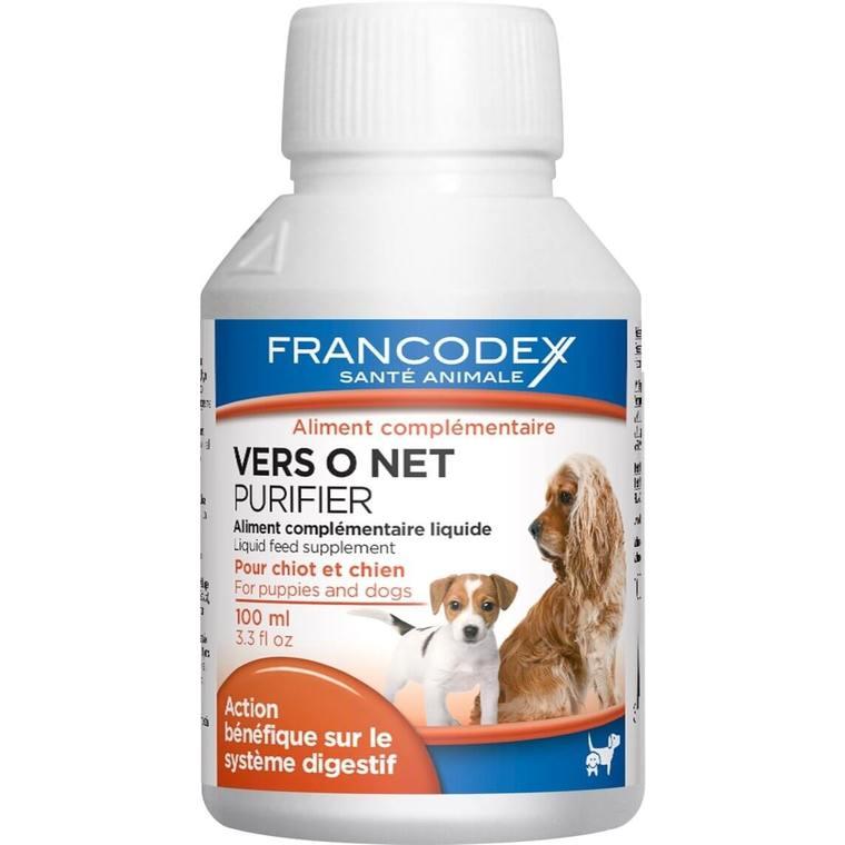 Vermifuge liquide pour chien et chiot Vers O Net - 100 ml 227109