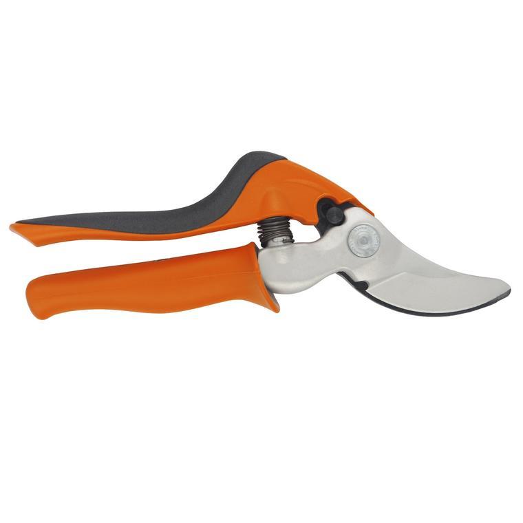 Sécateur à poignée rotative et ergonomique orange et noir - taille L 227693