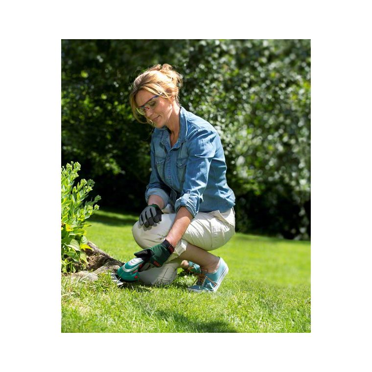 Taille-herbes BOSCH ISIO Set 2 Lames sculpte-haie + Gants 227758
