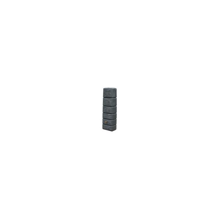 Récupérateur d'eau slim stone 300 litres – couleur granit 227803
