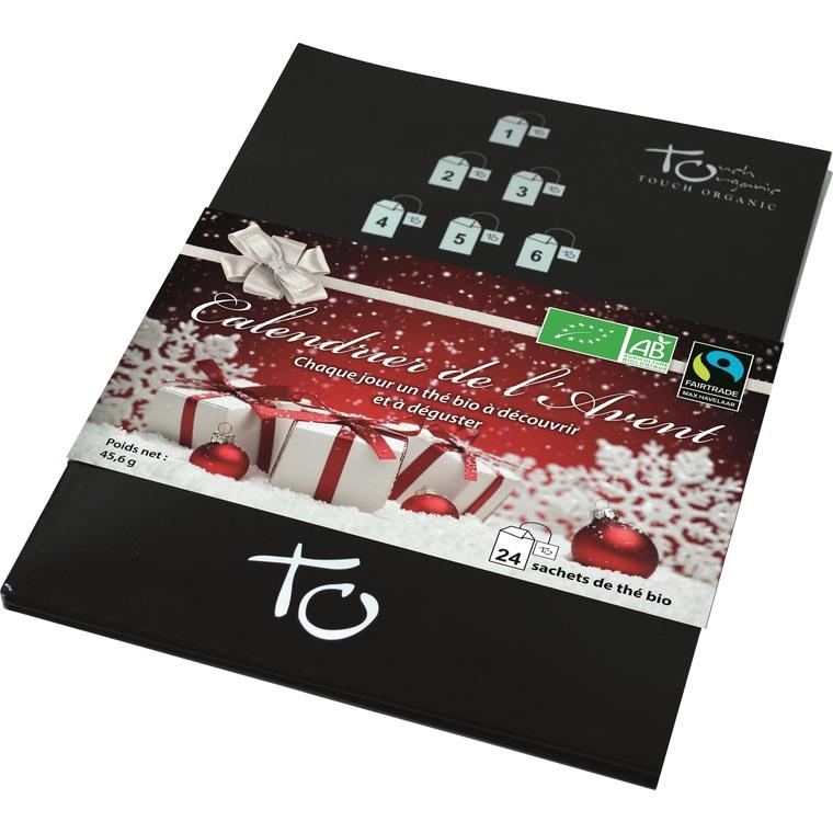 Calendrier de l'Avent thés Touch Organic 227828