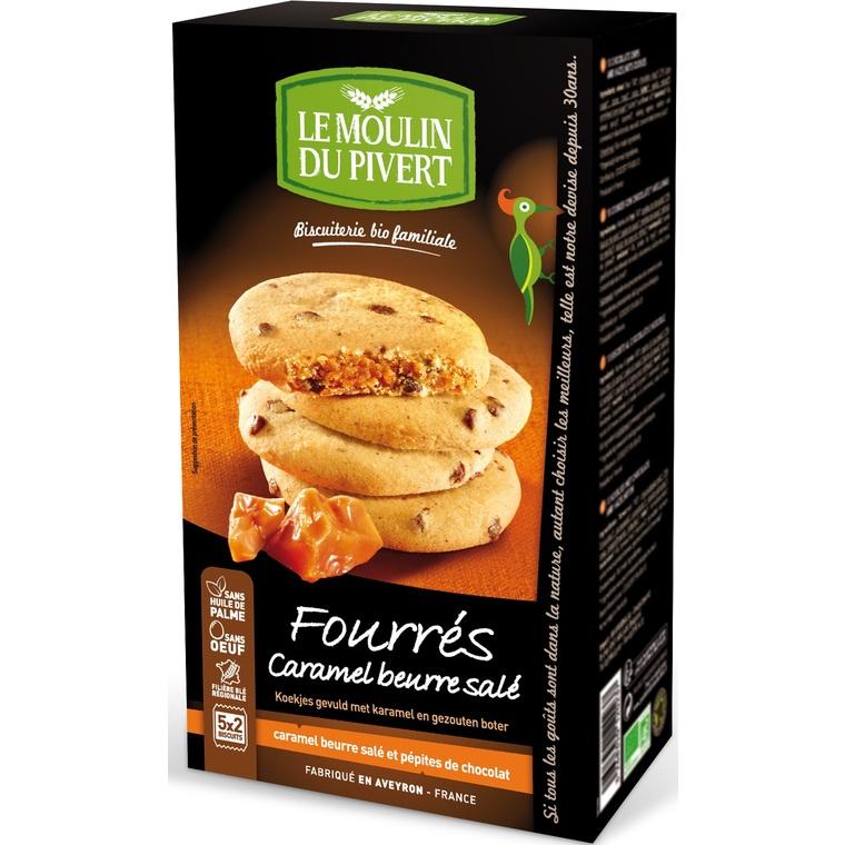 Cookies au Caramel Beurre Salé bio - 175 gr