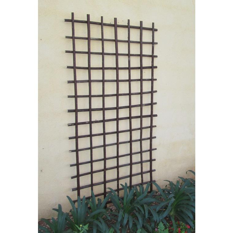 Treillis en osier épais rectangle 120x45 cm 229963