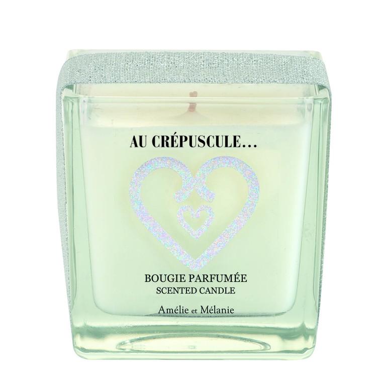 Bougie carrée parfumée Magie d'un Instant - 200 gr