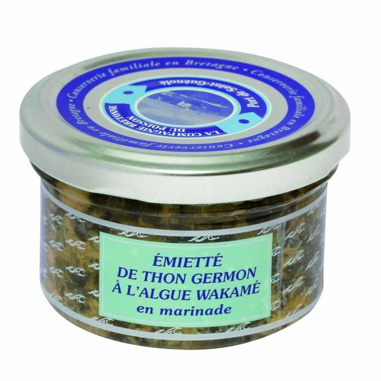 Tartare d'émietté de thon à l'algue Wakame - 90 gr