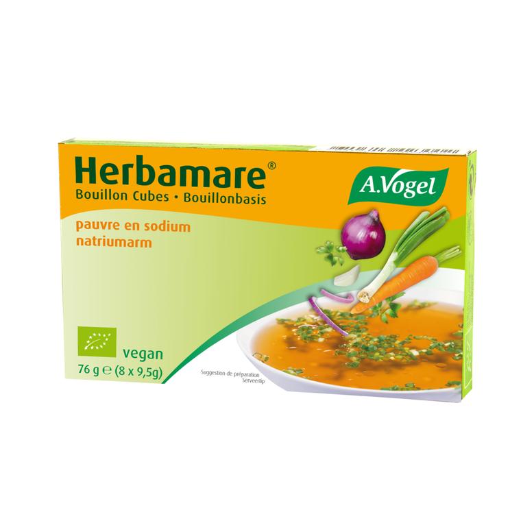 Cubes de légumes Herbamare pauvre en sodium 230606