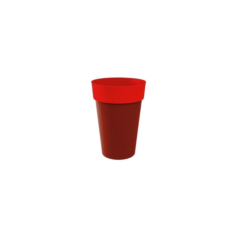 Vase haut STYLE Piment-Coquelicot D46 x H.65 cm 231224